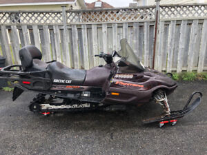 2002 arctic cat touring 800cc with many new parts
