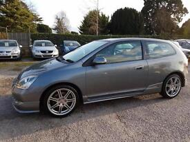 VERY LOW GENUINE MILEAGE 2005 HONDA CIVIC 2.0i-VTEC TYPE R FULL HISTORY