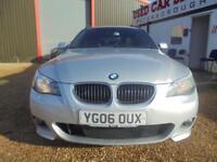 2006 06 BMW 5 SERIES 2.5 525D M SPORT 5D AUTO 175 BHP DIESEL