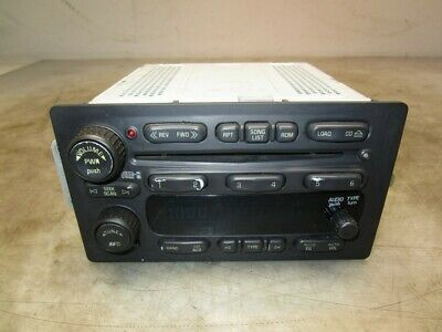 2005-2007 Chevrolet Silverado AM FM Radio 6 Disc CD Changer OEM