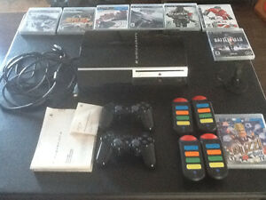 PlayStation 3 console plus games