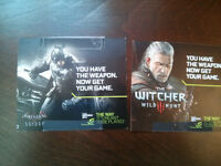 Batman Arkham Knight and Witcher 3 codes for sale