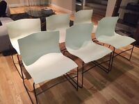 Knoll Vignelli Handkerchief Dining Chairs ( 6 available)