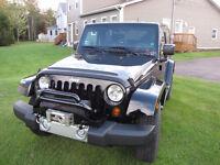 2007-16 Jeep JK Warn M8000 on HD bolt on winch plate