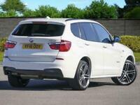 "16 BMW X3 2.0d M Sport xDrive20d Auto FBMWSH NAV Pro 20"" Alloys PX Welcome"
