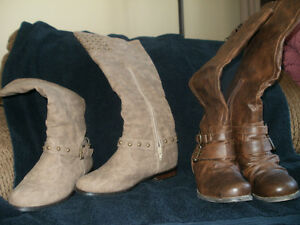 Beautiful Ladies Size 6 Tall Boots
