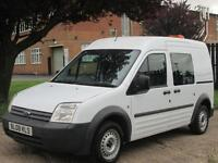 2008 08-REG Ford Transit Connect 1.8TDCi 90ps T230 LWB H/ROOF. LOW 118K. FSH. PX