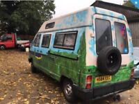 Reanult traffic 20td motorhome/campervan/ - mot - towbar runs and drives
