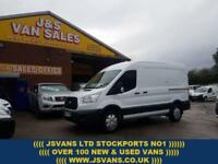 2015 64 FORD TRANSIT T330 ECONETIC M.W.B MED TOP TREND PACK 2015 1 OWNER VAN D