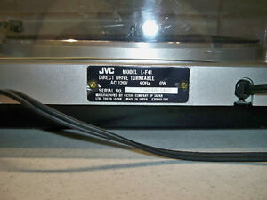 JVC DIRECT DRIVE TURNTABLE-VINTAGE Edmonton Edmonton Area image 6