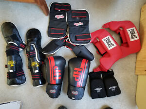 Équipement de boxe