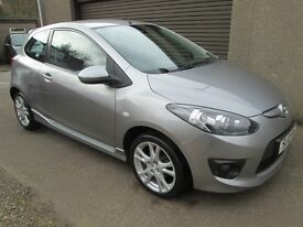Mazda 2 1.3 TAMURA - ONLY 52319 MILES - PAY AS YOU GO FINANCE AVAILABLE - (silver) 2010
