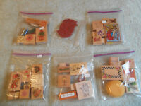 Bagged stamps.