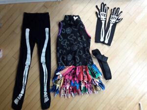 Monster High Skeleta Costume Size Medium