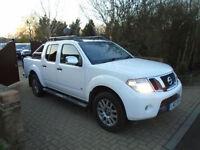 2012 12 Reg Nissan Navara 3.0dCi V6 Auto Outlaw 1 Owner (64000 MILES ) NO VAT