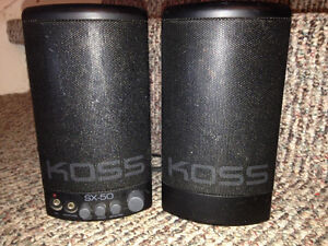KOSS SX/50 Multimedia Speakers