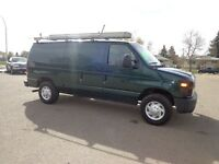 2008 Ford E-250 Cargo Van Fully Equipped And Ready Lease To Own
