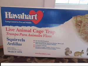 New in box! Havahart live animal trap (squirrel+ size)