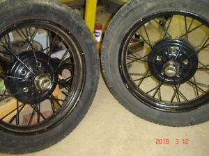 "Ford Model A  21"" Wire Wheels 1928 & 1929"
