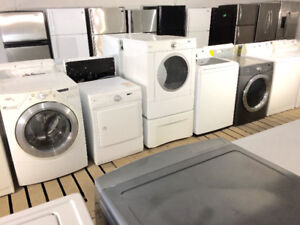 Used Appliances - Washers and Dryers on Clearance Sale