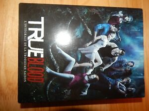True blood season 1-3 DVD Bilingue.