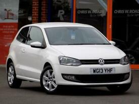 2013 13 VOLKSWAGEN POLO 1.2 MATCH EDITION 3DR