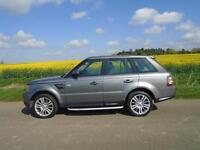 2010/10 LAND ROVER RANGE ROVER SPORT 3.0 TD V6 HSE 5DR GREY + MUST BE SEEN +