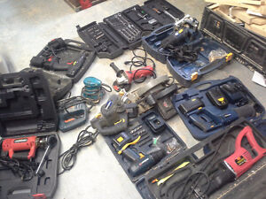 Assorted tools for sale as a package only