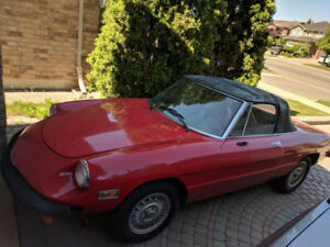 1976 Alfa Romeo Spider Excellent Condition