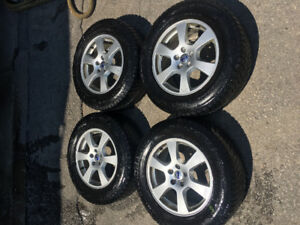 VOLVO XC oem wheels and winter tires