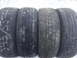 4 pneus été 245/55R19 103s Bridgestone Dueler H/L400