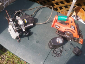 Black and Decker 5 inch cordless saw