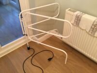 Electric Clothes Airer and Drying Rack in White