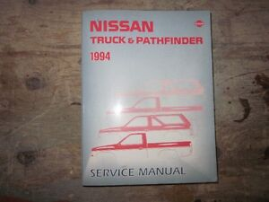 Nissan truck/pathfinder service manual