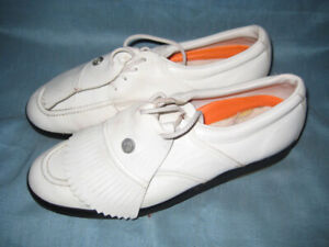 ★ Leather Ram Golf Shoes Sz11 ★