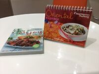 Two Weightwatchers recipe books