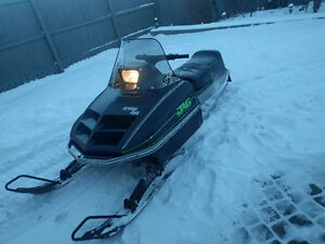 ## GREAT LITTLE ARCTIC CAT JAG 340 IN EXCELLENT CONDITION ###