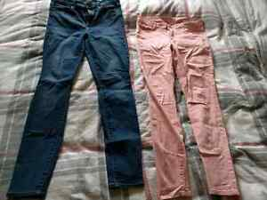 Gap and RW&Co pants