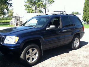 2002 Jeep Grand Cherokee Limited SUV, Crossover