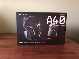 Astro A40 TR Wired Gaming Headset   Mixampe Pro (PS4, PC)