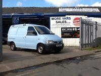 2001 Nissan vanette cargo 2.3 diesel van twin side doors no mot spares & repairs export??