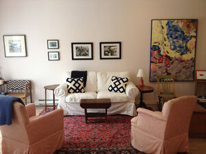 Spacious, renovated and furnished studio