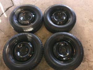 Volkswagen/Audi Winter tires & rims.