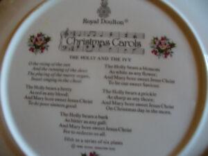 Sets of Royal Doulton Xmas Plates