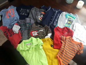Baby Boy Clothing Lot and Diaper Genie