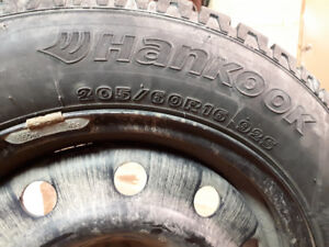Ice pike studded tires/rims