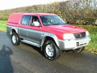 2003 MITSUBISHI L200 4X4 2.5 TD 4LIFE DOUBLE CAB, VERY TIDY CONDITION