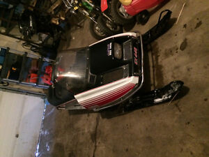 Mint ! Old sled trade for dirt bike
