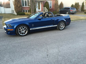 Ford Mustang Shelby GT 500 convertible