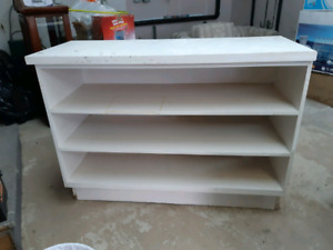 Large White Cabinet for sale *AVAILABLE IN SPRING